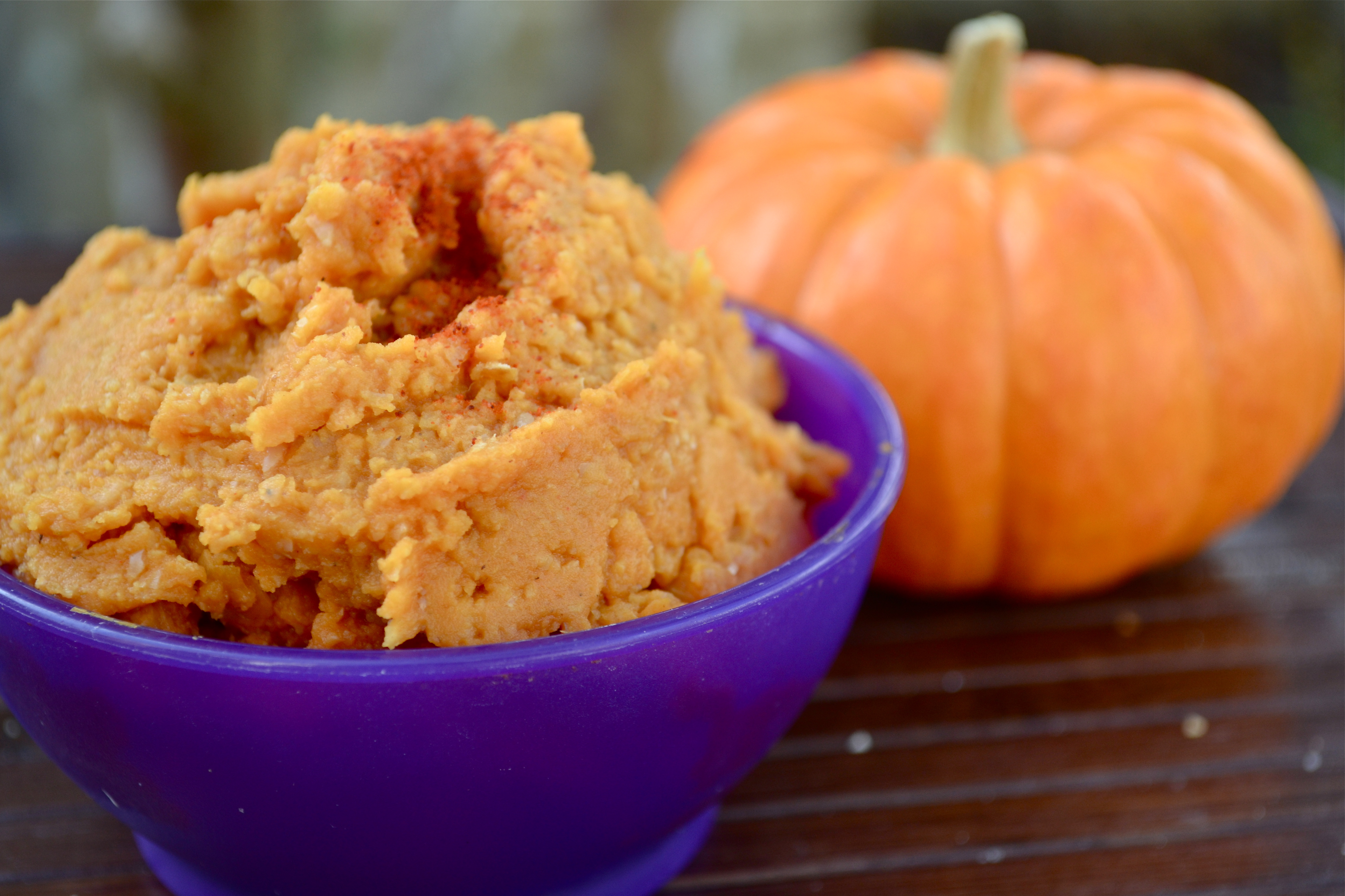 Say what?? Pumpkin hummus? Pumpkin in a savory Yes you read that right ...