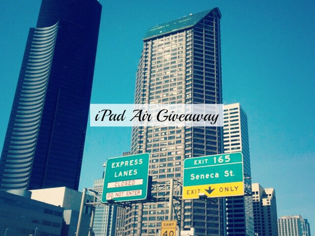 iPad Air Giveaway!