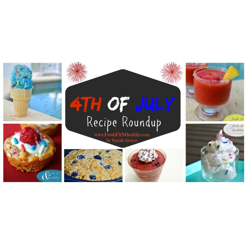4th of July Recipe Roundup!