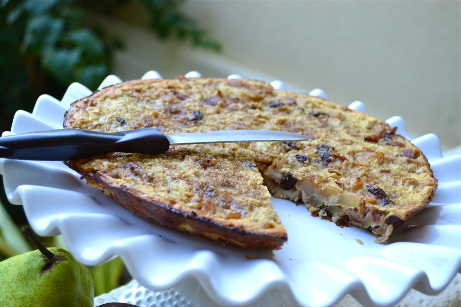 {No Sugar Added} Apple & Pear Breakfast Tart