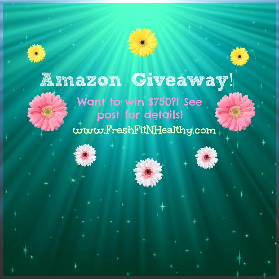 Totally Awesome Amazon Giveaway ~ $750!!