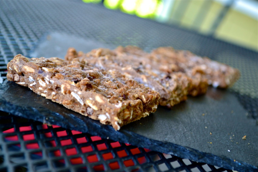Simple, No Bake Chocolate Protein Bars