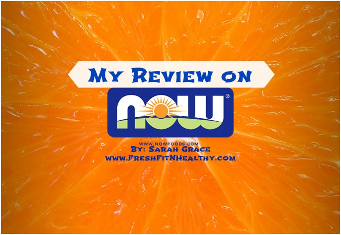 NOW Foods Product Review