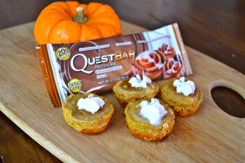 Quest Bar Mini Pumpkin Pies