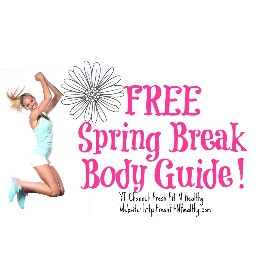 FREE 1 Month to Spring Break Plan