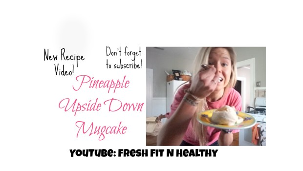 Pineapple Upside Down Mugcake {video}