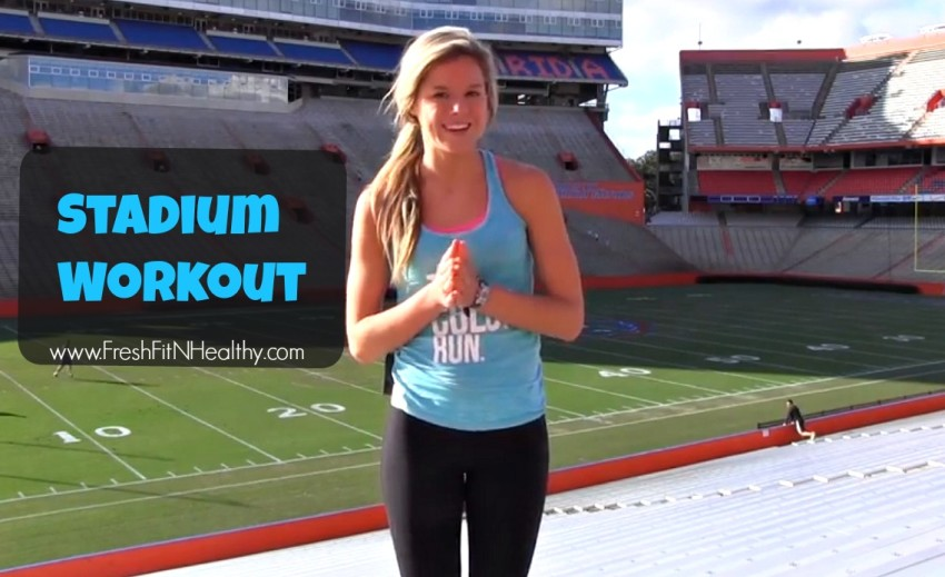 Stadium Workout {youtube video}