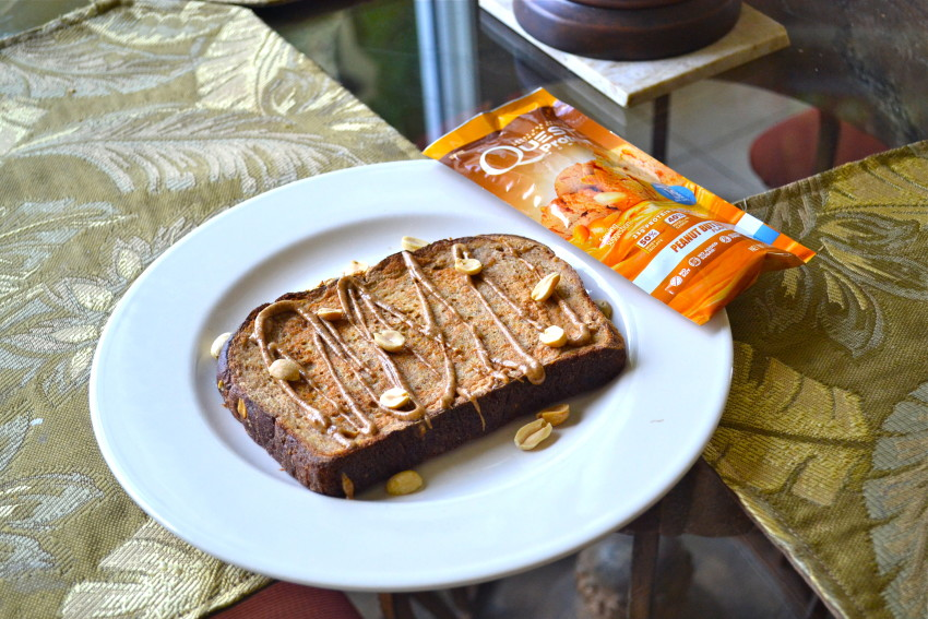 High Protein Peanut Butter French Toast