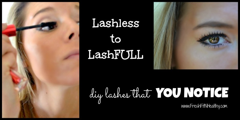 From Lash-less to Lash-ful {natural lash booster & eye makeup tips}
