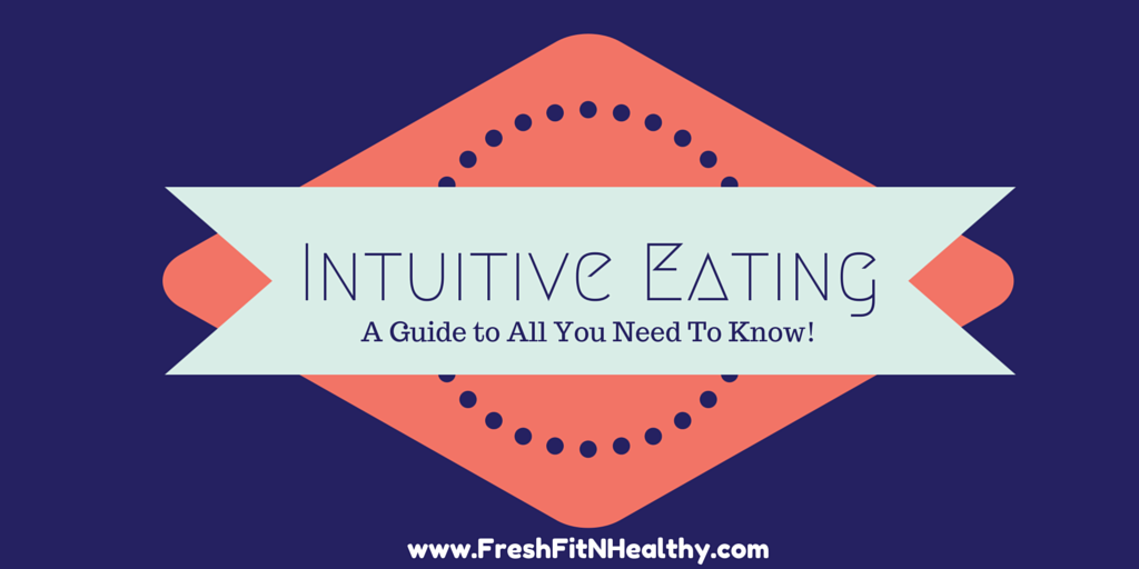 Intuitive Eating 101 + FREE printable journal!