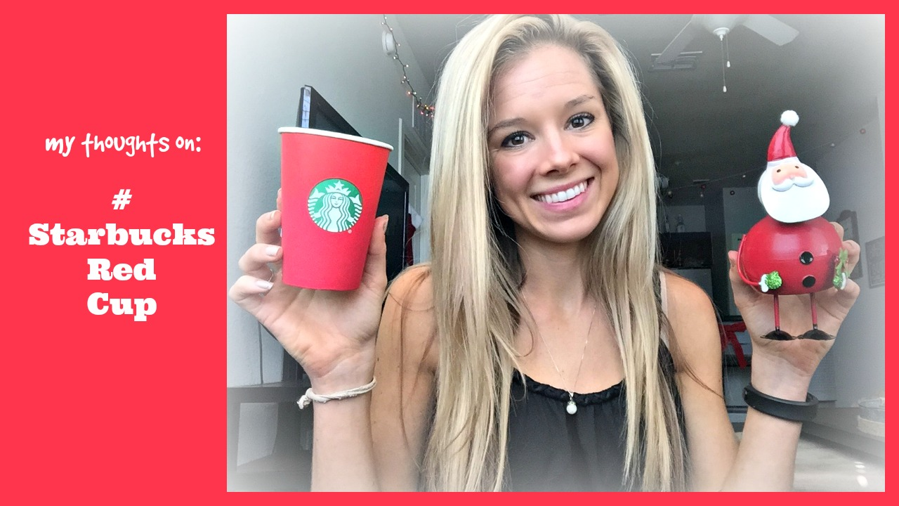 Thoughts on #StarbucksRedCup and #MerryChristmasStarbucks from a Christian Perspective