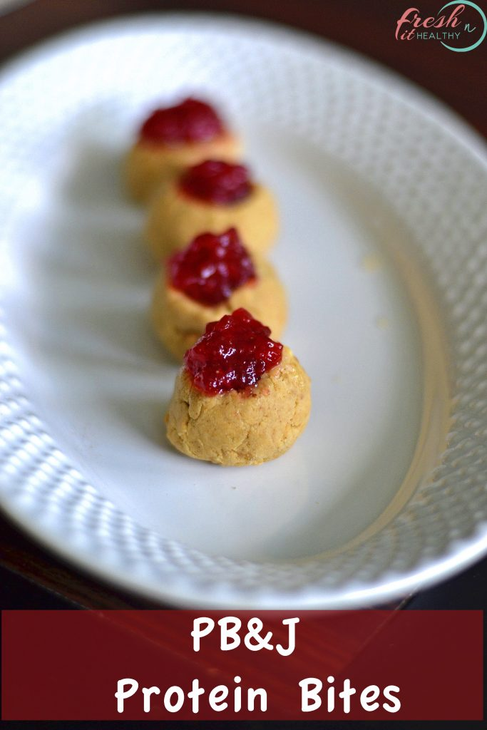 peanut butter and jelly snack