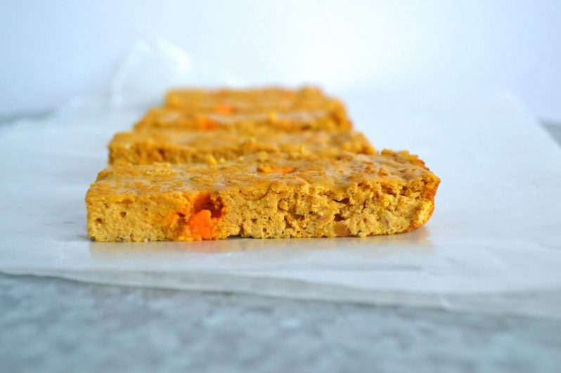 pumpkin protein bar