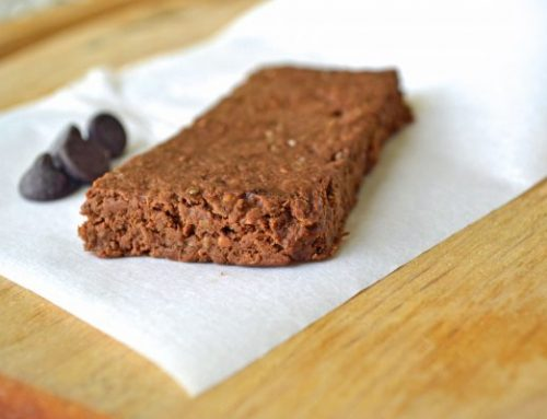 Chocolate Peanut Butter Homemade Protein Bars