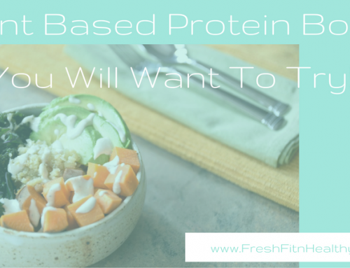 Plant Based Protein Bowls That'll Make You Want to Go Vegan