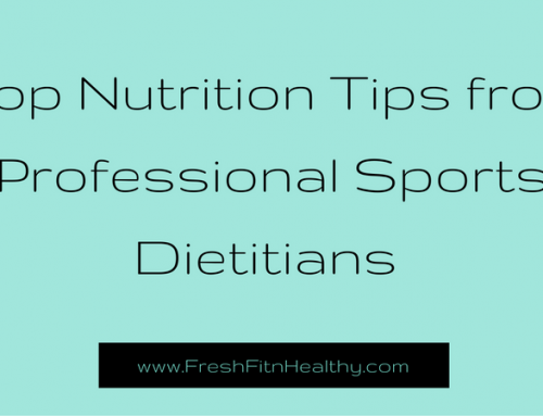 Top Nutrition Tips from Professional Sports Dietitians