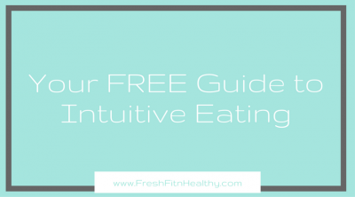 what is intuitive eating