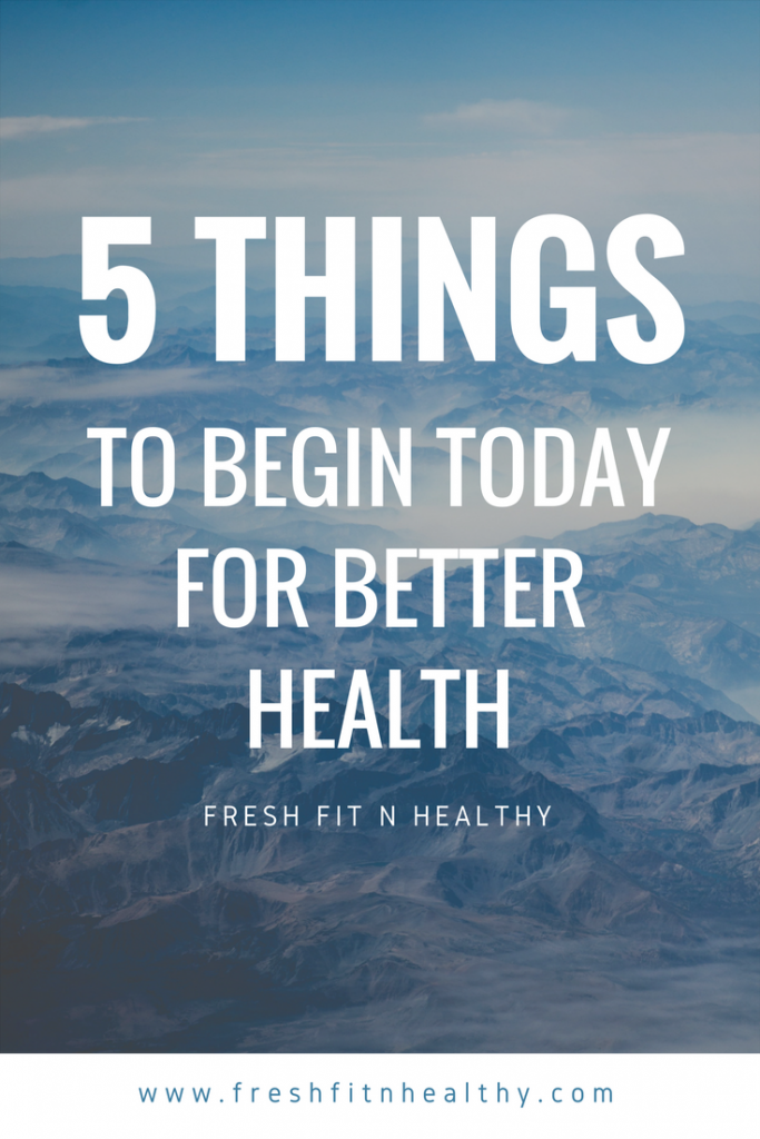 tips for better health