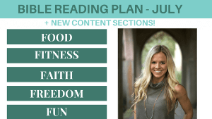 FREE Bible Reading Plan + NEW CONTENT Announcement!