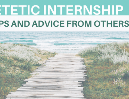 Dietetic Internship Tips // Get Matched!