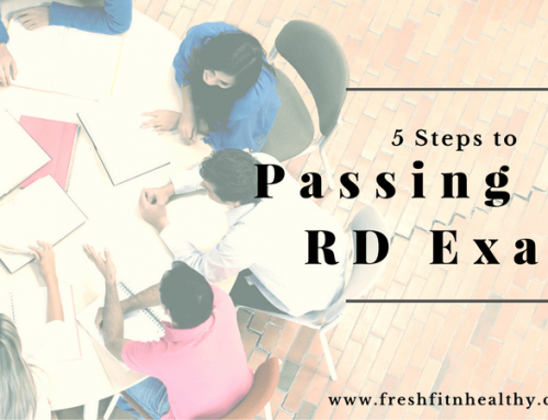 5 Steps to Pass the RD Exam (in 5 Days)