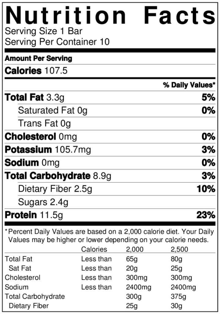 proteinbar-label