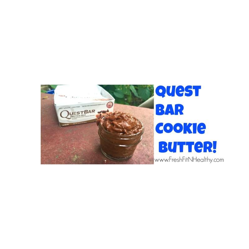 Quest Bar COOKIE BUTTER {video}