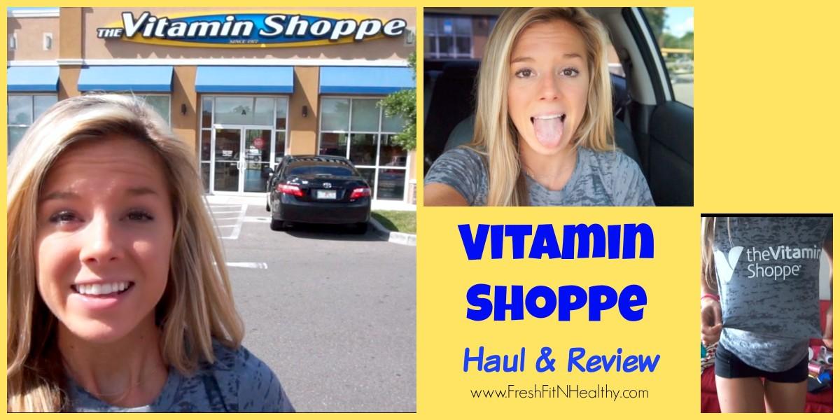 My Trip to Vitamin Shoppe