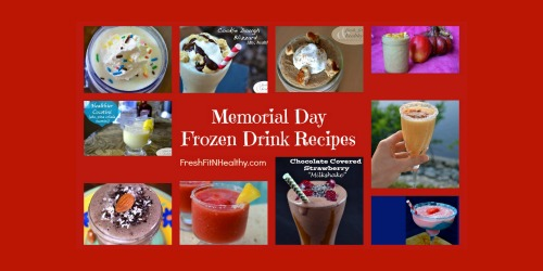 Top Memorial Day Frozen Drink Recipes