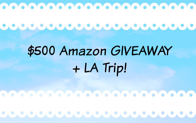 $500 Amazon Gift Card Giveaway?!