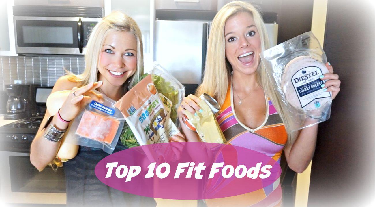 Top 10 Foods Fit People Eat
