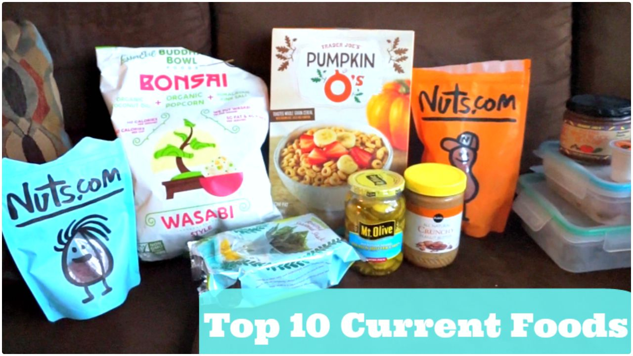 Top Ten Current Healthy Food Finds