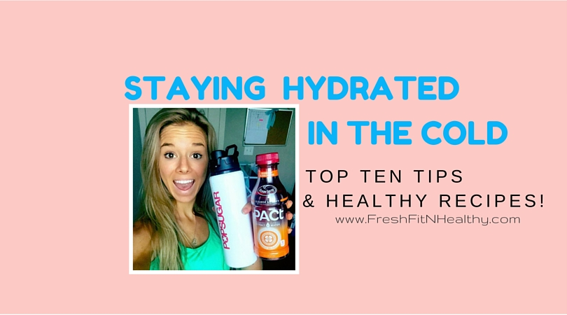 Top Tips for Staying Hydrated as the Weather Cools