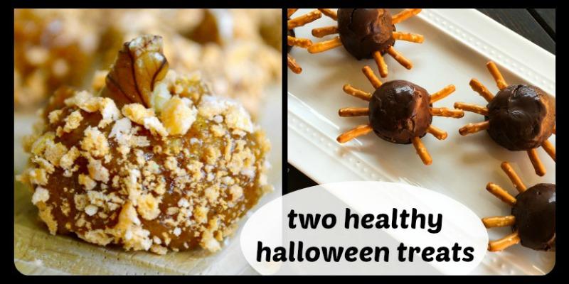 TWO Healthy Halloween Pumpkin Treats