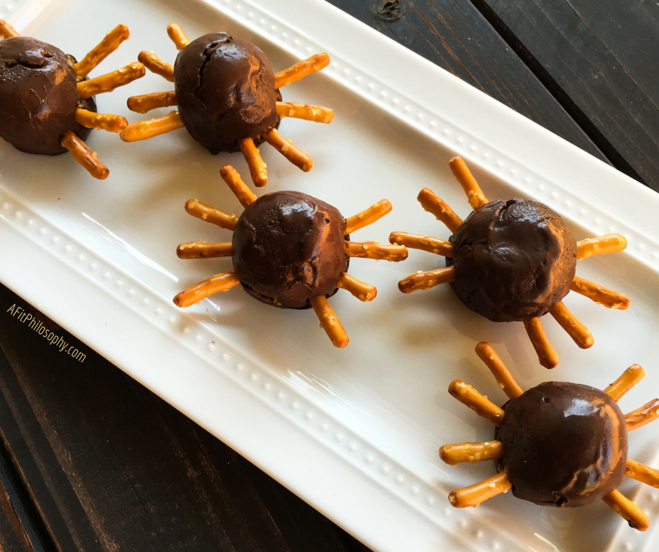 Scary Spider Pumpkin Balls 3