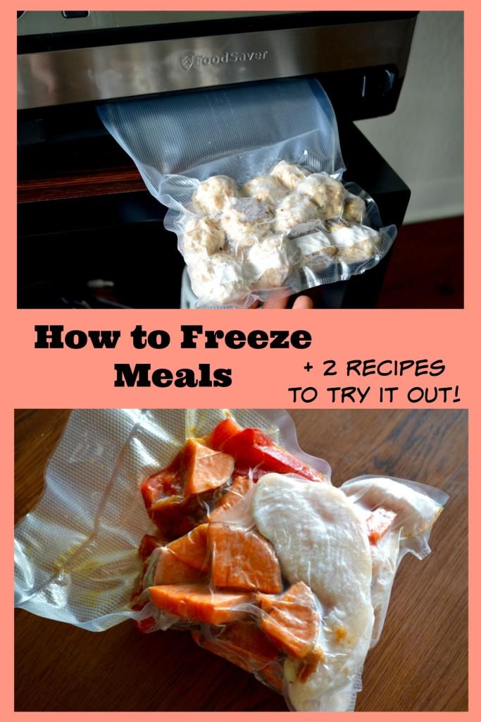 freezing meals