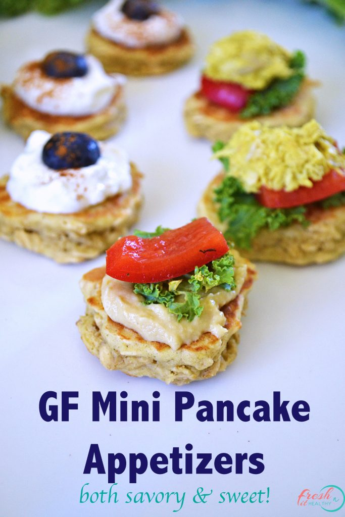 mini healthy pancakes