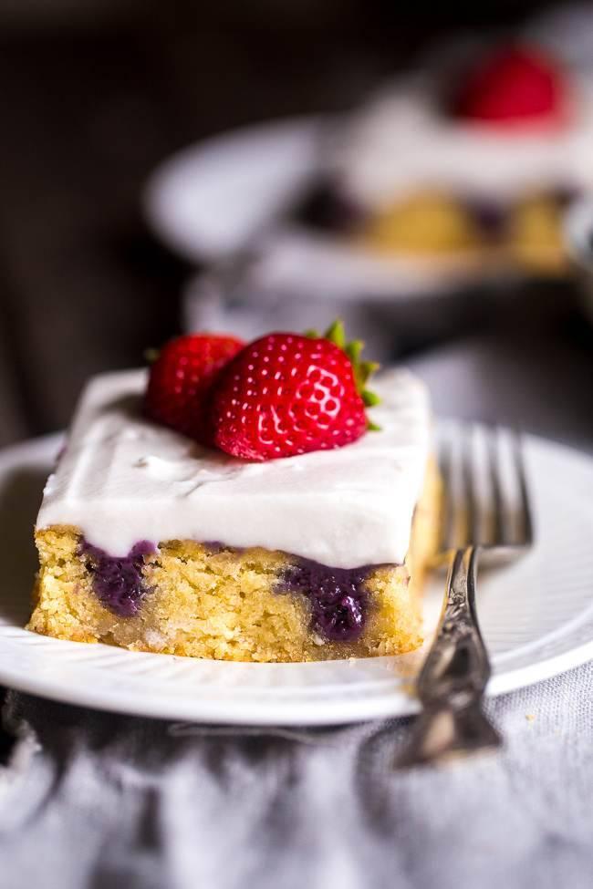 healthy poke cake