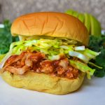 Healthy BBQ Chicken Sandwiches