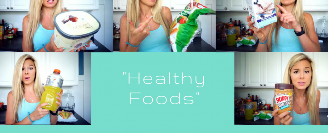healthy foods that aren't