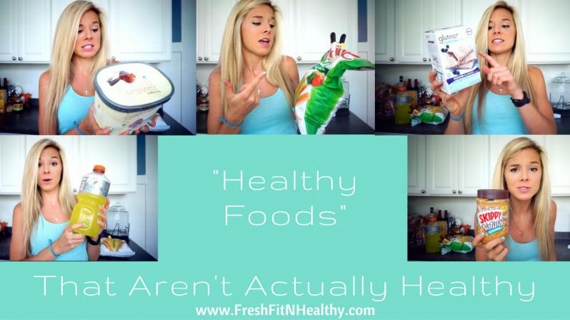 healthy foods that aren't