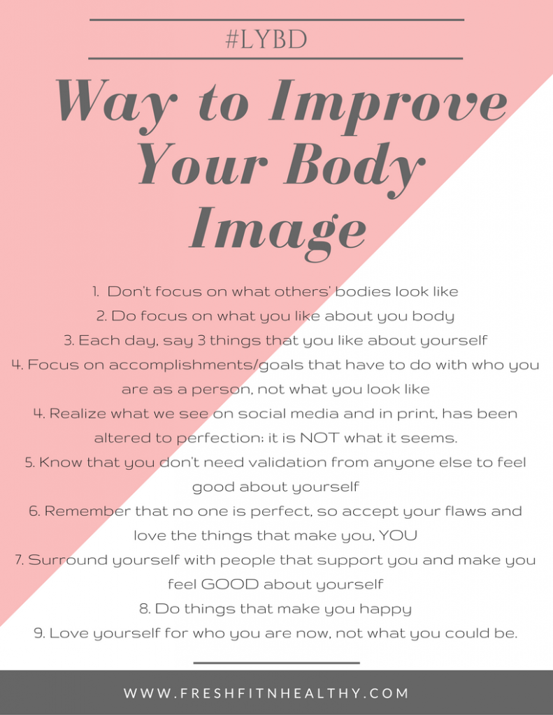 love your body tips