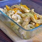 One Dish Easy Chicken Fajita Bake