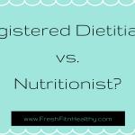 Registered Dietitian (RD) vs. Nutritionist