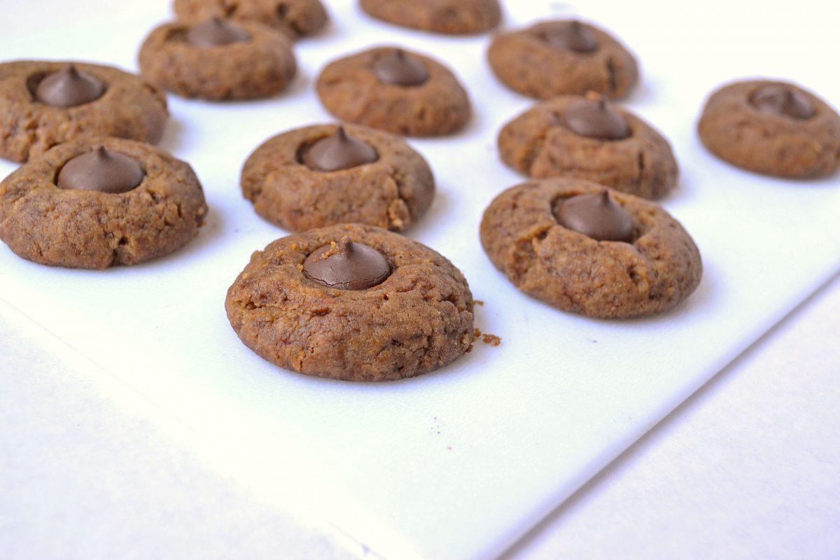 healthy pb cookies