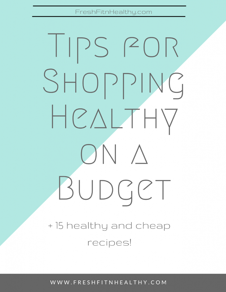 healthy on a budget