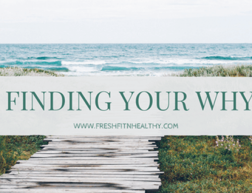 Finding Your WHY || #1 Thing to Help Me Overcome