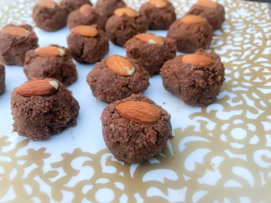 almond joy protein bites