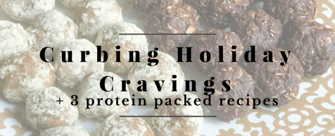 curb holiday cravings