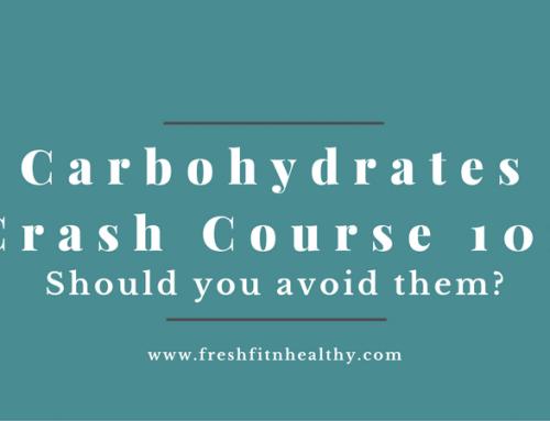 Carbs Crash Course 101